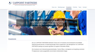 CAPPOINT PARTNERS - Capital for companies and management teams