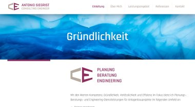 Antonio Siegrist - Consulting Engineer