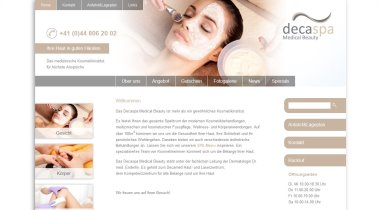 Decaspa Medical Beauty Zurich