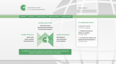 International Center for Corporate Governance / ICfCG Network
