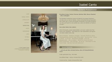 Isabel Canto - songs & entertainment