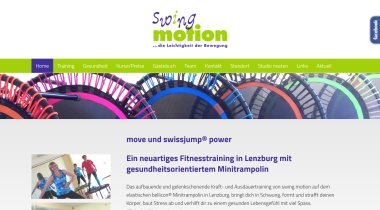swing motion - Fitnesstraining in Lenzburg