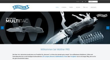 Walther Pro Outdoor-Sortiment - Freizeit.Sicherheit.Lifestyle